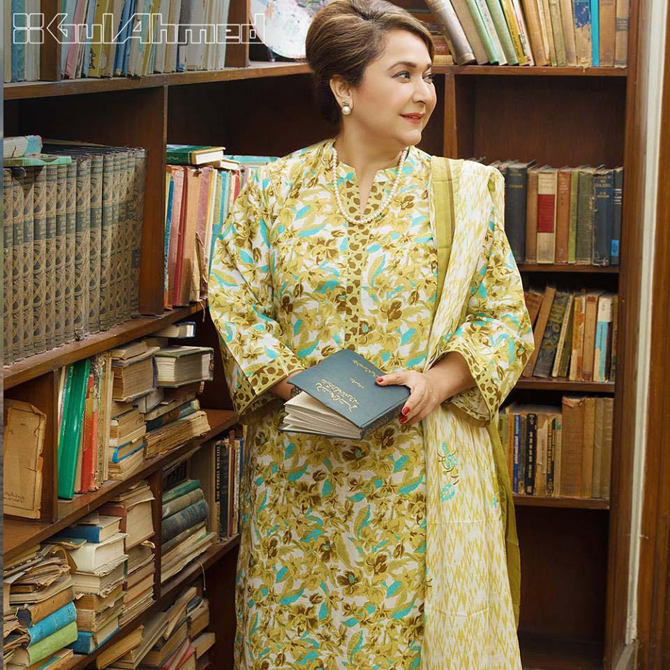Gul Ahmed Unstitched Dresses