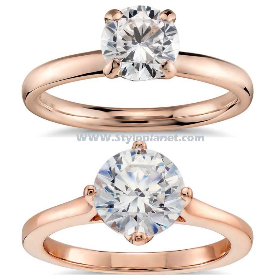 Bridal Gold Engagement Rings