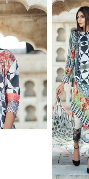 Mausummery Latest Spring Summer Lawn Unstitched and Ready To Wear Dresses 2017 (11)