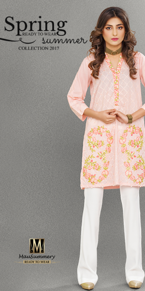 Mausummery Latest Spring Summer Lawn Unstitched and Ready To Wear Dresses 2017 (5)
