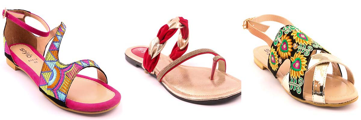 Stylo Shoes Latest Spring Summer Fashion Footwear 2017-18 Collection