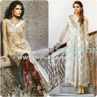 Party Wear Dresses by Indian and Pakistani Designers 2017-Latest Formal Dresses (17)