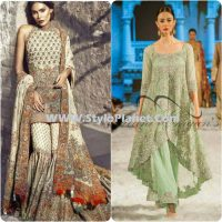 Party Wear Dresses by Indian and Pakistani Designers 2017-Latest Formal Dresses (3)
