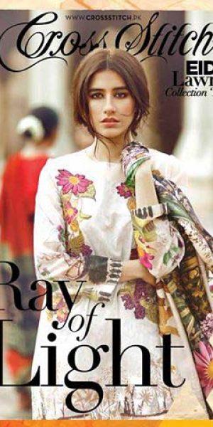 Cross Stitch Eid Lawn Collection 2017-18 Unstitch Eid Dresses Catalogue (2)