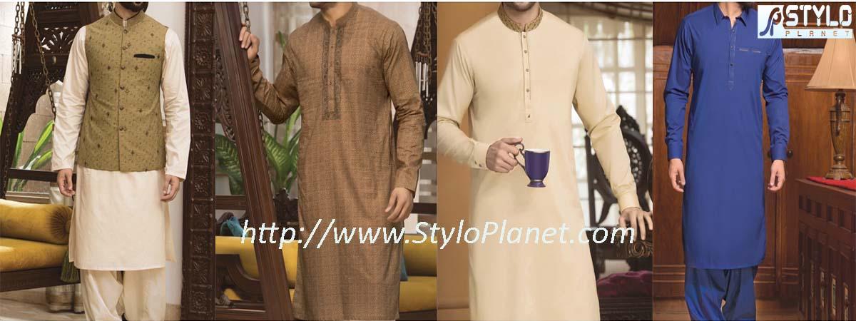 Junaid Jamshed Latest Eid Shalwar Kameez and Kurta Designs 2017