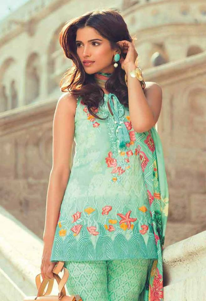 Mina Hassan Embroidered Dresses