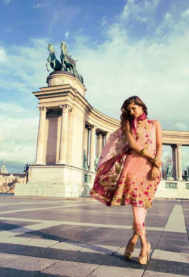 Mina Hassan Latest Summer Formal Dresses for Women 2017-18