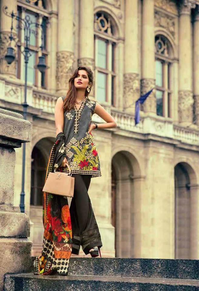 Mina Hassan Lawn Dresses