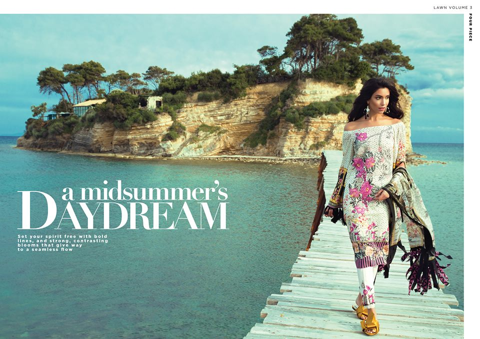 Sapphire Lawn Festive Eid Collection 2017-18 With Price
