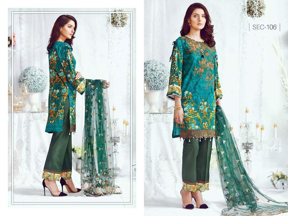 Shaista Cloth Eid Collection 2017
