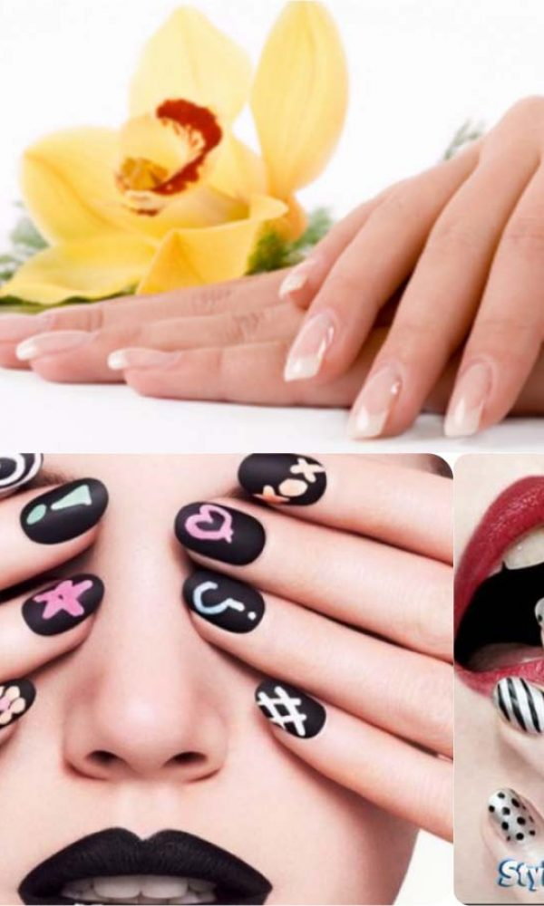 Beautiful Classy Eid Nail Paint Designs and Colors for Girls 2017-18 (10)