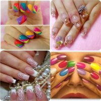 Beautiful Classy Eid Nail Paint Designs and Colors for Girls 2017-18 (11)