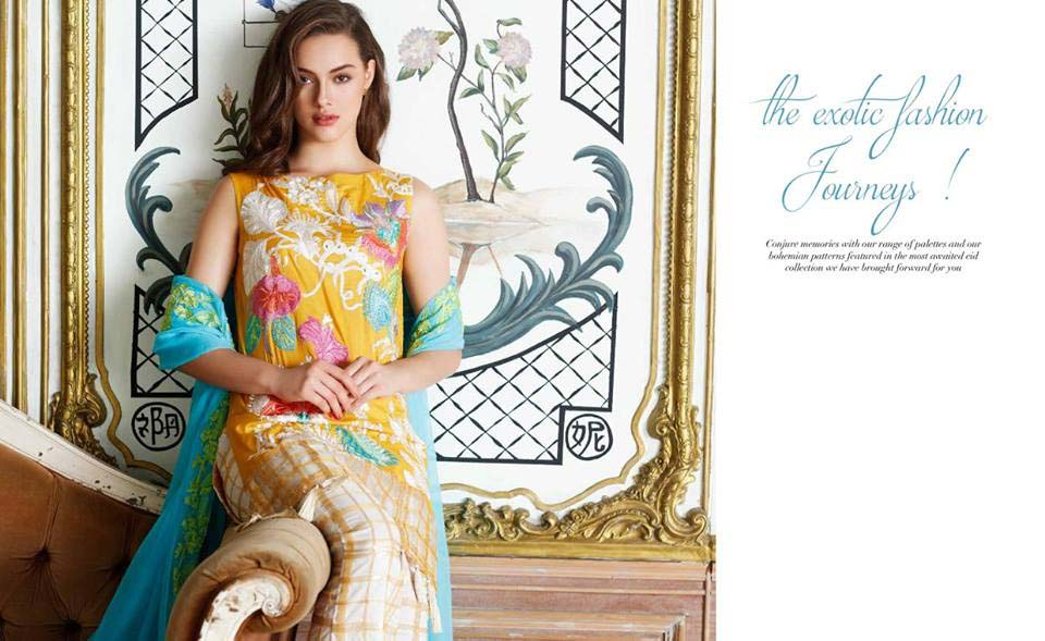 Charizma Swiss Voil Eid Dresses Collection 2017