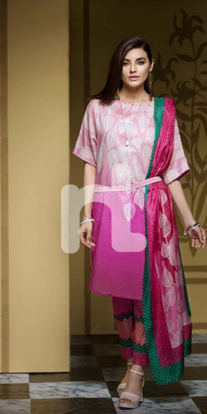 Nishat Linen Printed and Embroidered Eid Dresses Collection 2017-18 (13)