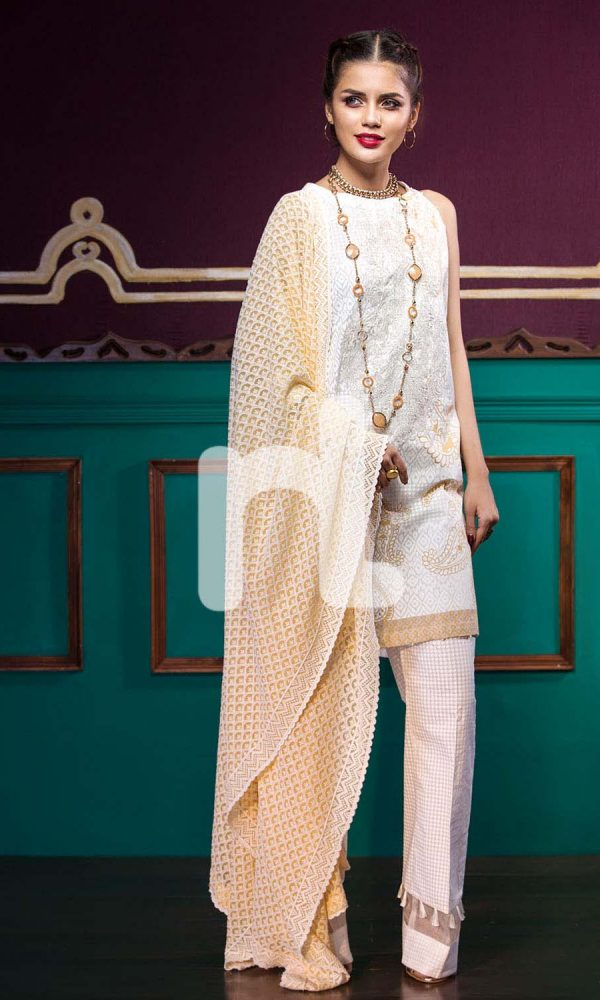 Nishat Linen Printed and Embroidered Eid Dresses Collection 2017-18 (5)