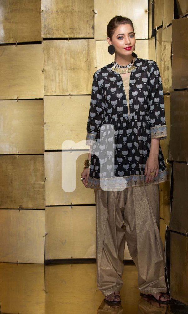 Nishat Linen Printed and Embroidered Eid Dresses Collection 2017-18 (7)
