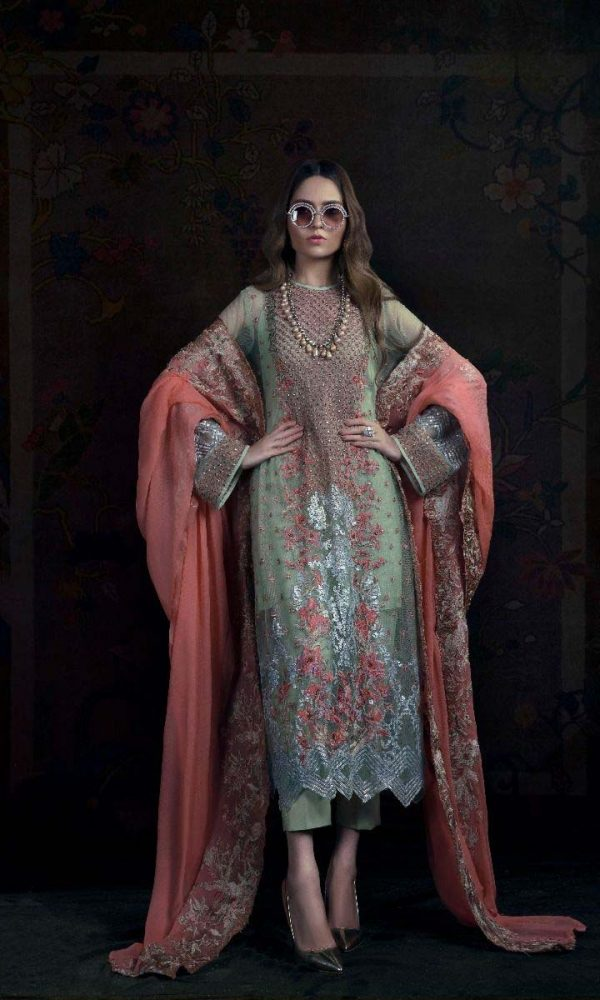Sana Safinaz Luxury Embroidered Eid Collection 2017-18 (4)