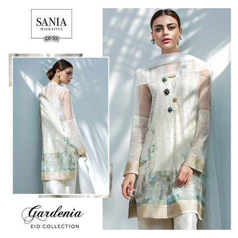 Sania Maskatiya Gardenia Latest Eid-Ul-Fitr Collection 2017-18