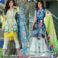Thredz Unstitched Lawn Collection 2017-18 Eid Edition (1)