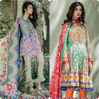 Thredz Unstitched Lawn Collection 2017-18 Eid Edition (12)