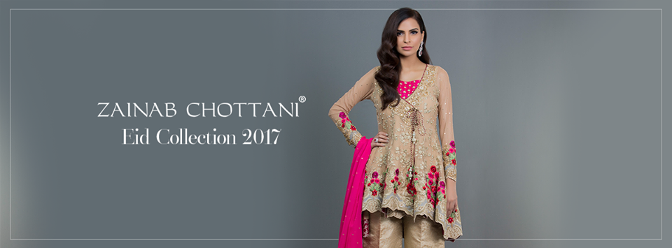 Zainab Chottani Formal Eid Dresses Collection 2017-18 for Women