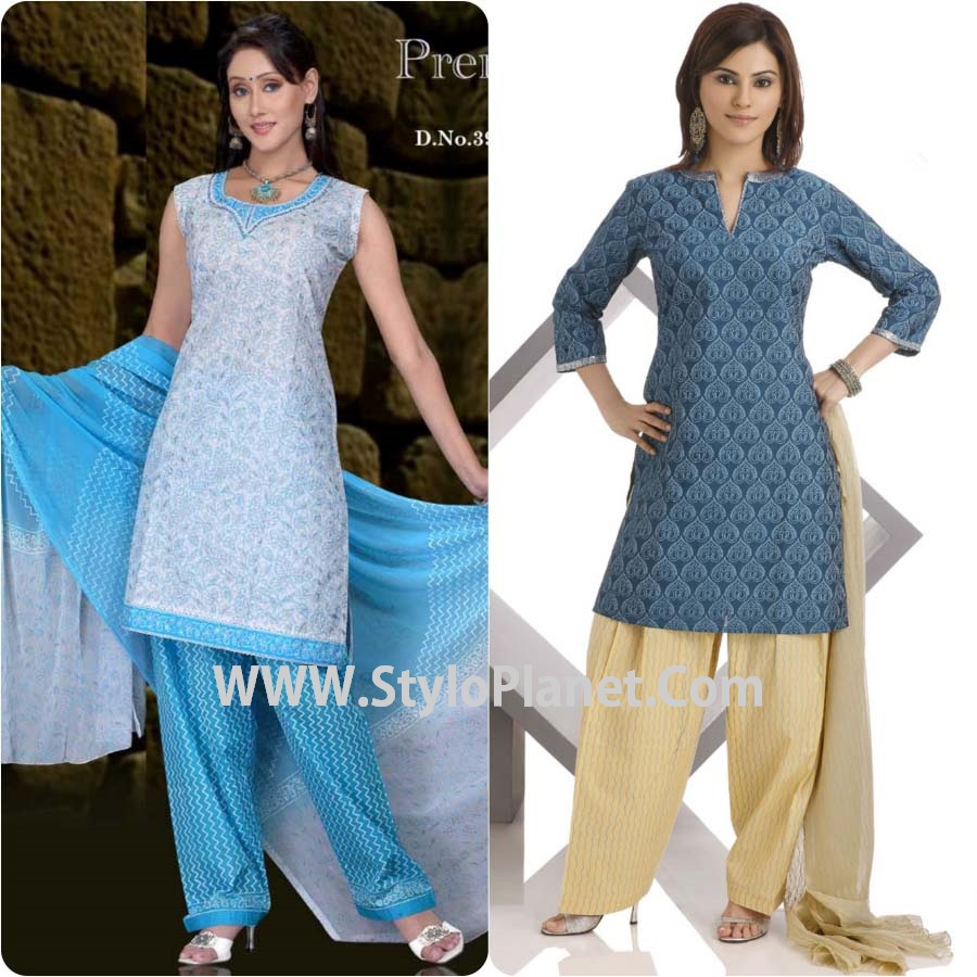 Simple Shalwar Designs