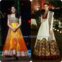 Best Pakistani and Indian Anarkali Frocks Trends and Designs 2017-2018 (12)