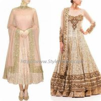 Best Pakistani and Indian Anarkali Frocks Trends and Designs 2017-2018 (13)