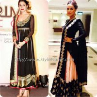 Best Pakistani and Indian Anarkali Frocks Trends and Designs 2017-2018 (15)