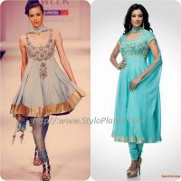 Best Pakistani and Indian Anarkali Frocks Trends and Designs 2017-2018 (5)