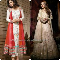 Best Pakistani and Indian Anarkali Frocks Trends and Designs 2017-2018 (6)