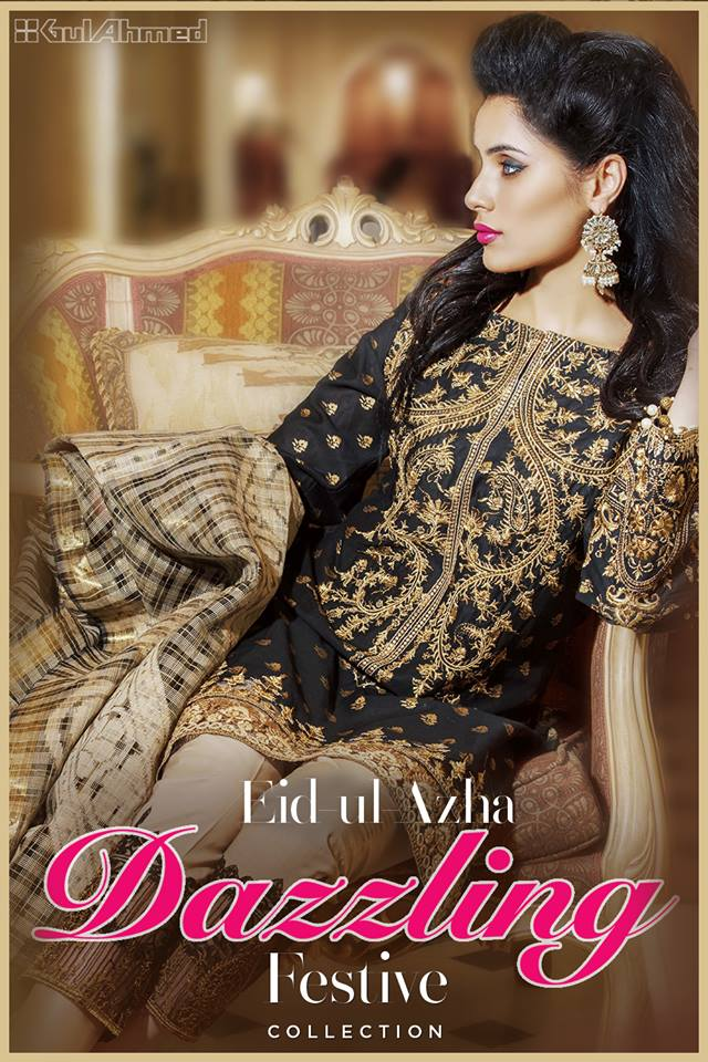 Gul Ahmed Festive Eid-UL-Azha Collection for Women 2017-18