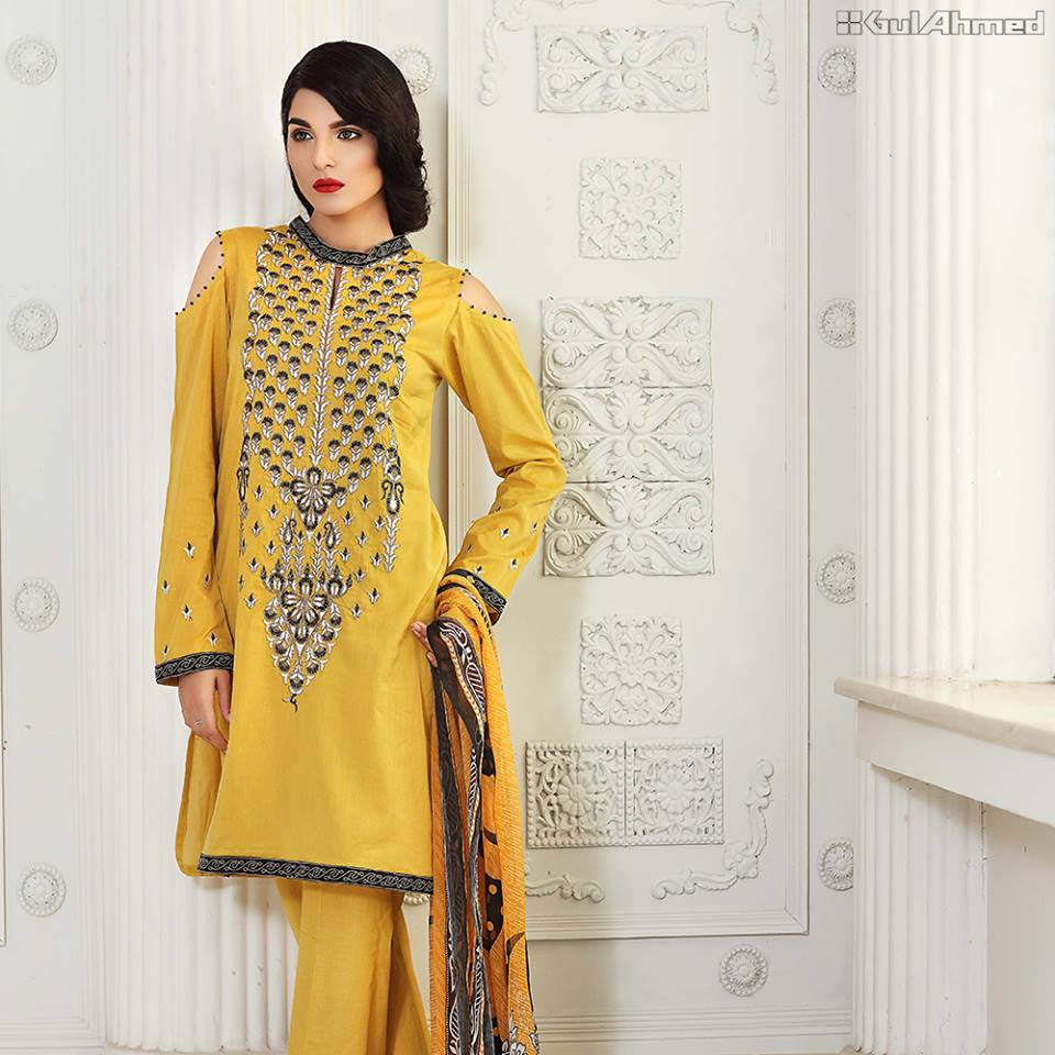 Gul Ahmed Embroidered Collection