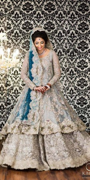 Pakistai Bridals Beautiful Walima Dresses 2017 Latest Trends (14)