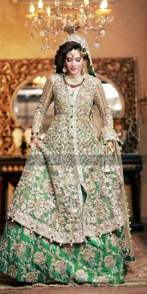 Pakistai Bridals Beautiful Walima Dresses 2017 Latest Trends (2)
