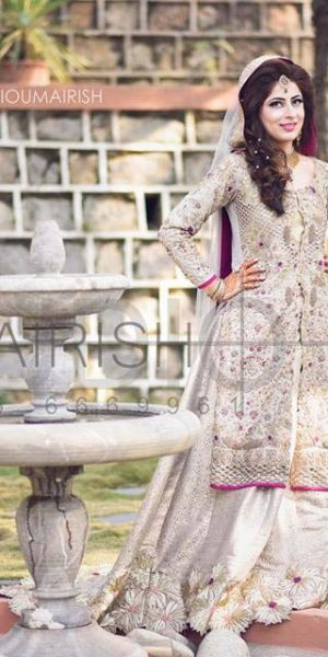 Pakistai Bridals Beautiful Walima Dresses 2017 Latest Trends (3)