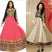 Party Wear Fancy Frock Designs for Girls 2017-18 Umbrella Frocks Collection (11)