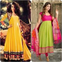 Party Wear Fancy Frock Designs for Girls 2017-18 Umbrella Frocks Collection (15)
