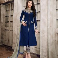 Women NecklineGala Designs of Casual and Formal Suits for Asian Women (2)