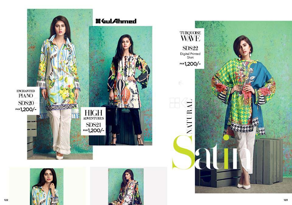Printed Dresses by Gul Ahmed