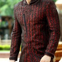 Latest Men Mehndi Dresses Shalwar Kameez and Kurta Designs 2017-2018 (18)