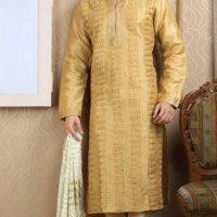 Latest Men Mehndi Dresses Shalwar Kameez and Kurta Designs 2017-2018 (5)