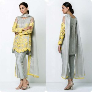 Embroidered Dresses by nomi Ansari