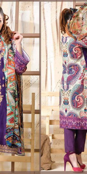 DLS Din LifeStyle Premium Winter Cambric Dresses Collection 2017-2018 (2)