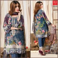 DLS Din LifeStyle Premium Winter Cambric Dresses Collection 2017-2018 (4)