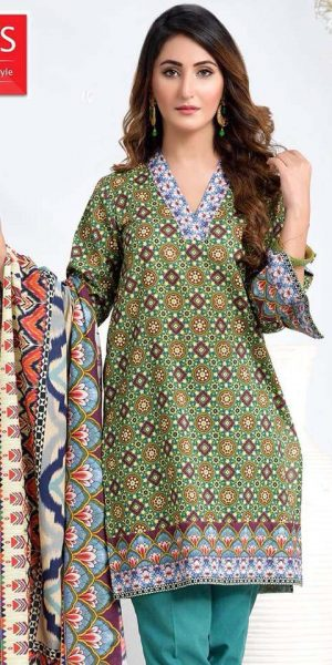 DLS Din LifeStyle Winter Cambric Kurtis Collection 2017-2018 (6)