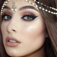 Latest Best Arabic Bridal Makeup Tips & Ideas With Complete Guideline (32)