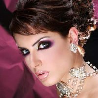 Latest Best Arabic Bridal Makeup Tips & Ideas With Complete Guideline (5)