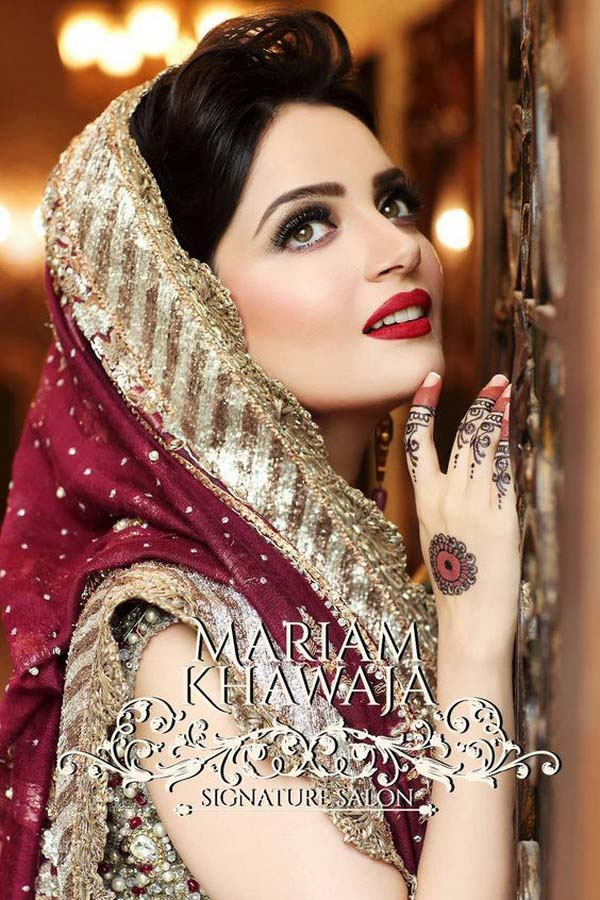 Latest Best Arabic Bridal Makeup Tips & Ideas With Complete Guideline