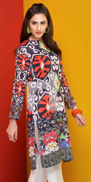 Nishat Linen Winter Stitched Shirts Collection 2017 (10)